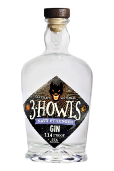 3 Howls Navy Strength Gin