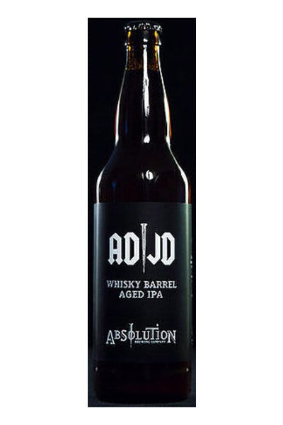Absolution ADJD Whiskey Barrel Aged IPA