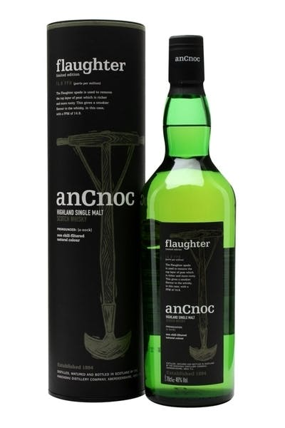Ancnoc Flaughter Peated Scotch Whisky
