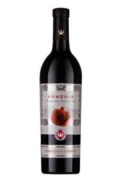 Armenia Pomegranate Semi Sweet Red Wine