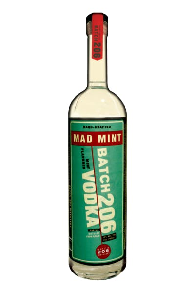Batch 206 Mad Mint Vodka