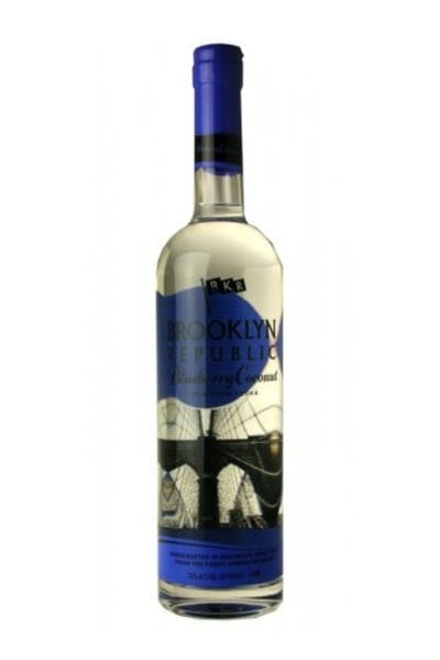 Brooklyn Republic Blueberry Coconut Vodka