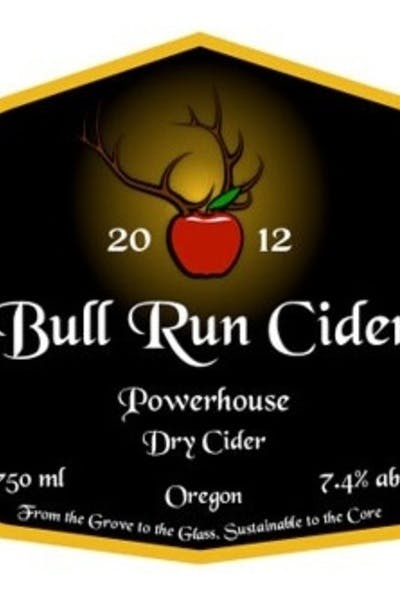 Bull Run Cider Powerhouse Dry Cider