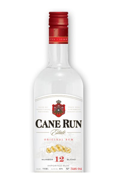 Cane Run Estate Silver Rum Glass
