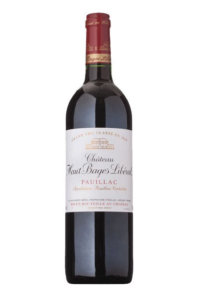 Chateau Haut Bages Liberal Pauillac 2003