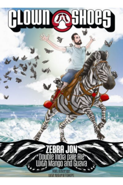 Clown Shoes Zebra Jon