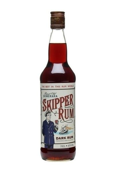 Demerara Skipper Rum Dark Rum