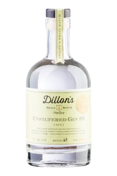 Dillon's Unfiltered Gin 22 Small Batch