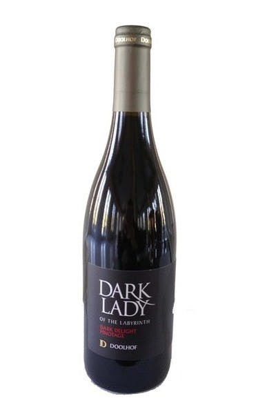 Doolhof Dark Lady of the Labyrinth Pinotage