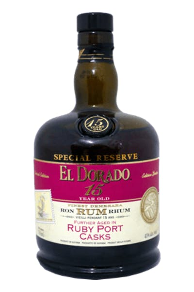 El Dorado 15 Year Ruby Port Cask Rum