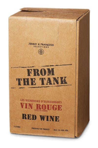 From The Tank Vin Rouge