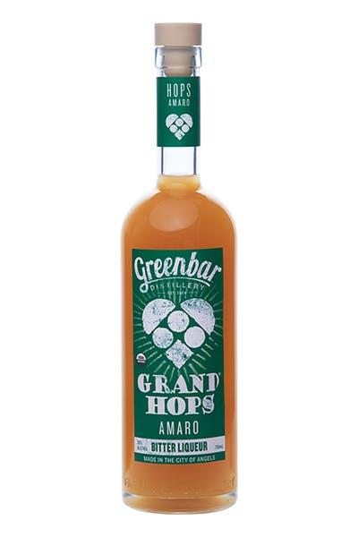 Grand Hops Amaro from Greenbar Distillery