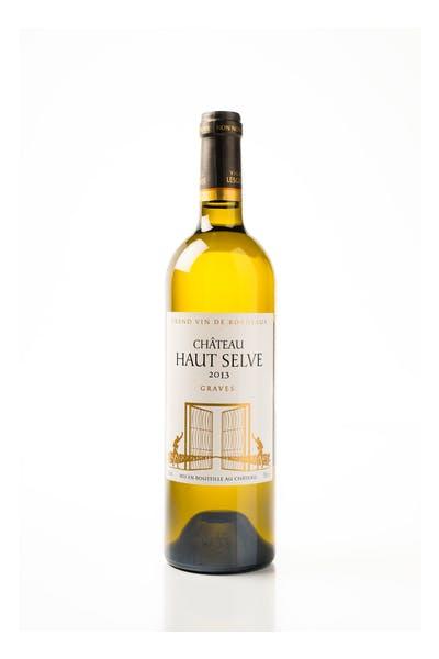 Haut Selve Graves Blanc Grand Vin De Bordeaux