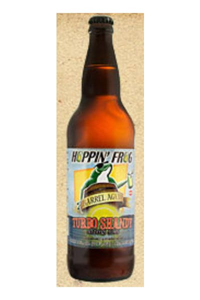 Hoppin' Frog Barrel Aged Turbo Shandy Citrus Ale
