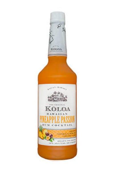Koloa Pineapple Passion Rum Cocktail