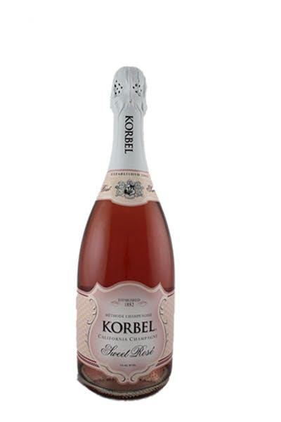 Korbel Sweet Sparkling Rose