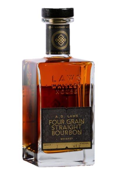 Laws Four Grain Straight Bourbon Whiskey