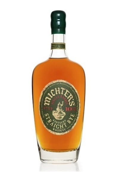 Michters 10 Year Single Barrel Rye