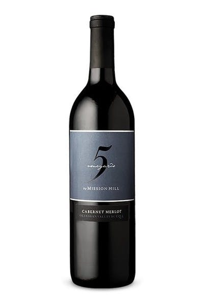 Mission Hill Five Vineyards Cabernet Merlot