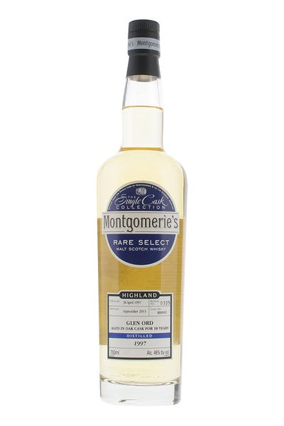 Montgomerie's Glen Ord Single Malt Scotch Whisky