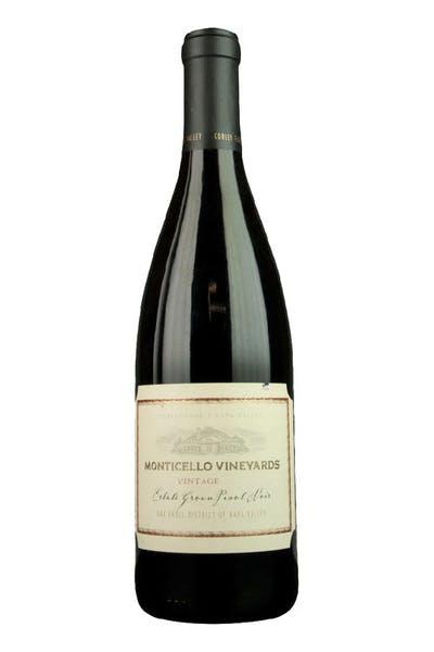 Monticello Pinot Noir Est Oak Knoll