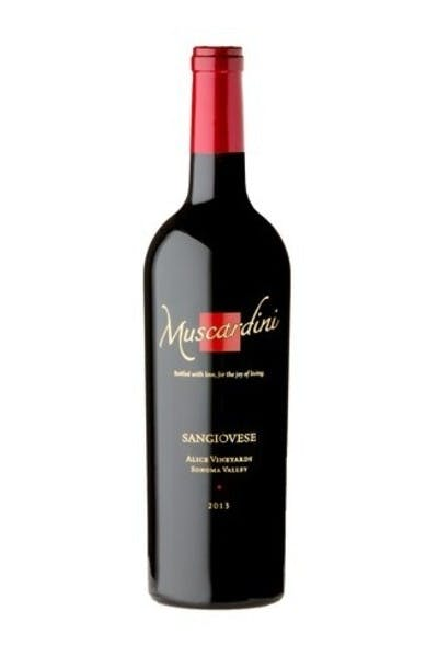 Muscardini Cellars Alice Vineyards Sangiovese