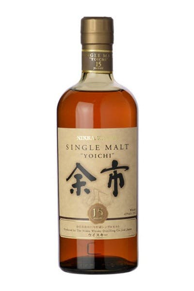 Nikka Single Malt Yoichi 15 Year