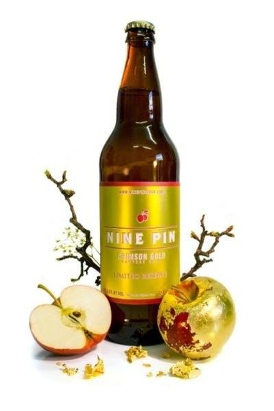 Nine Pin Crimson Gold Cider