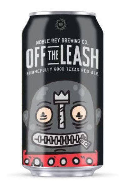 Noble Rey Off the Leash Texas Red Ale