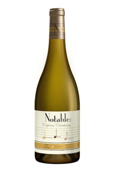 Notable California Chardonnay