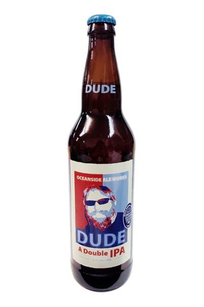 Oceanside Ale Works Dude Double IPA