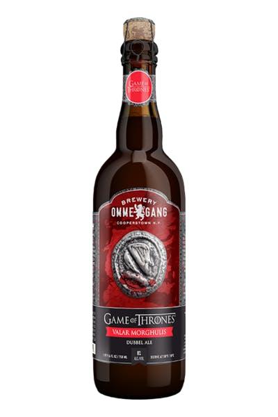 Ommegang Game of Thrones Valar Morghulis