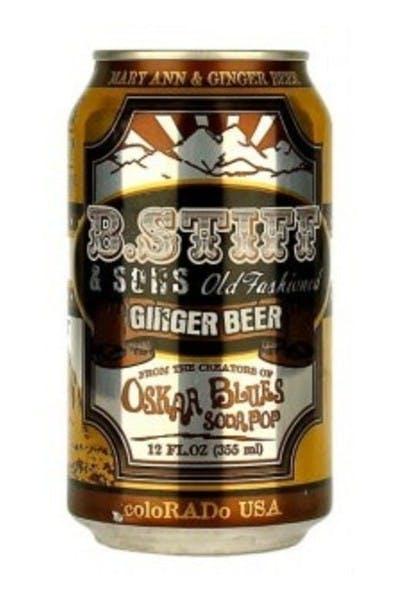 Oskar Blues B. Stiff and Sons Ginger Beer