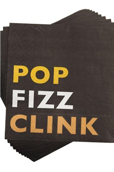 Pop Fizz Clink Cocktail Napkins