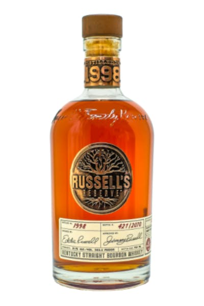 Russell's Reserve 1998 Kentucky Straight Bourbon Whiskey
