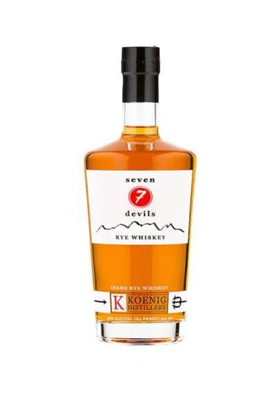 Seven 7 Devils Rye Whiskeyry