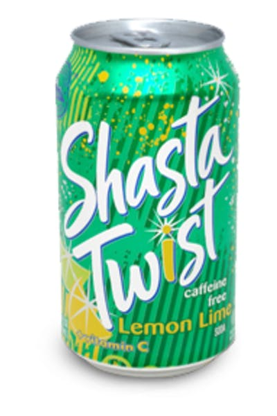 Shasta Twist Lemon Lime