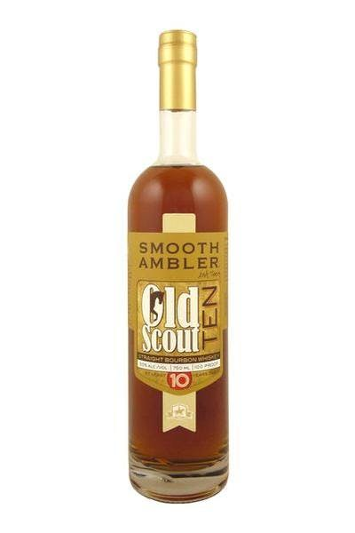 Smooth Ambler Old Scout Ten Year Bourbon Whiskey