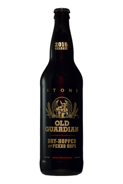 Stone Dry Hopped Old Guardian
