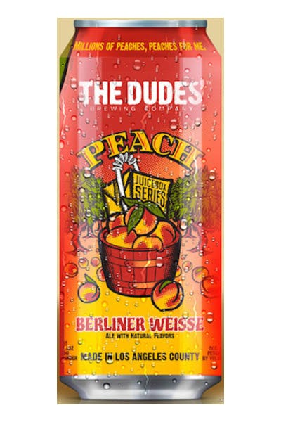 The Dudes' Peach Berliner Weisse