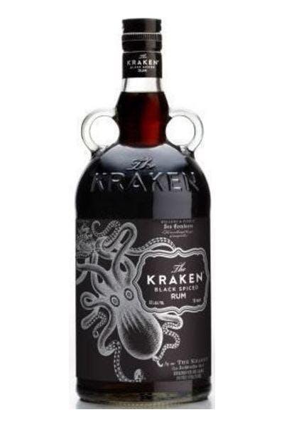 The Kraken Black Spiced Rum 70 Proof
