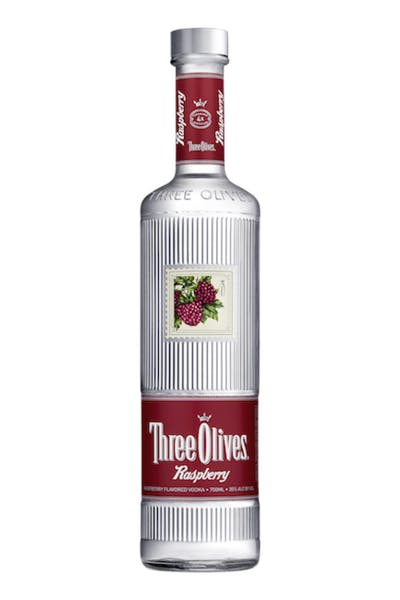 Three Olives Raspberry Vodka