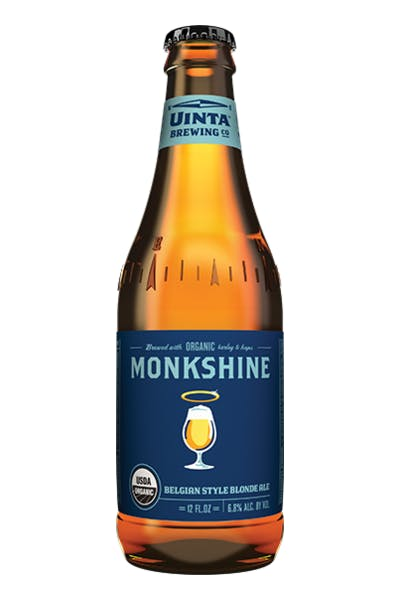 Uinta Monkshine Belgian Style Blonde Ale