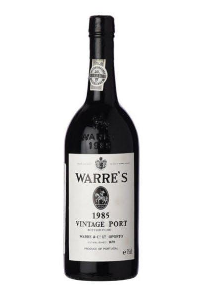 Warres Vintage Port 1985