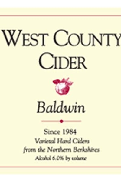 West County Baldwin Cider