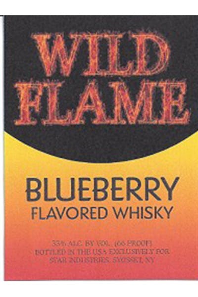 Wild Flame Whisky Blueberry