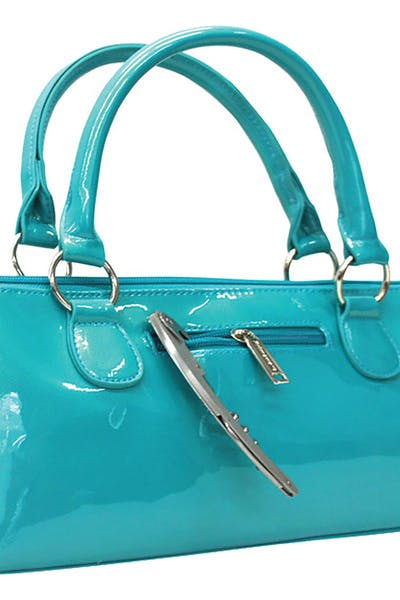 Wine Purse Insulated   Candy Blue