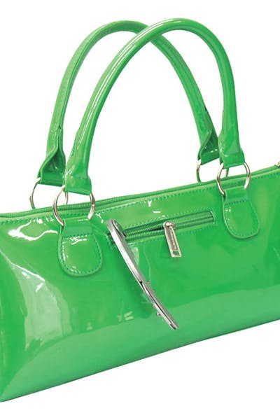 Wine Purse Insulated   Candy Green