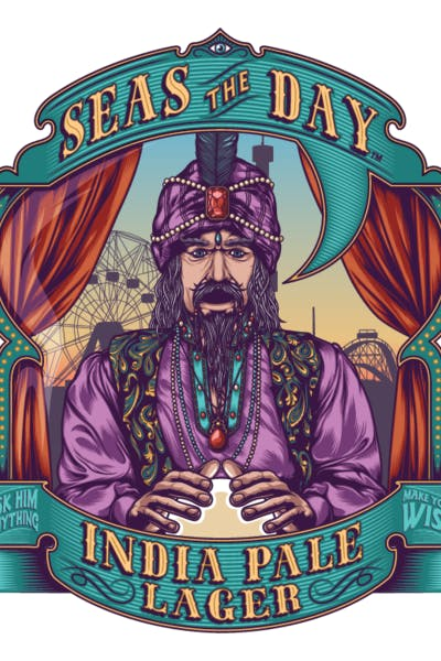 Coney Island Seas the Day India Pale Lager
