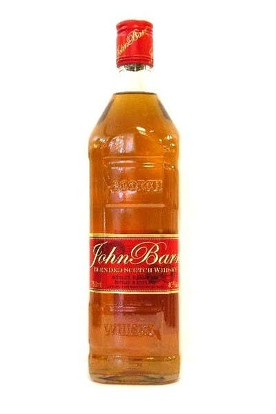 John Barr Red Label Blended Scotch